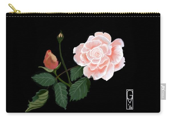 Victorian Rose Carry-all Pouch