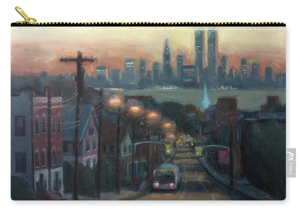 Victory Boulevard At Dawn Carry-all Pouch