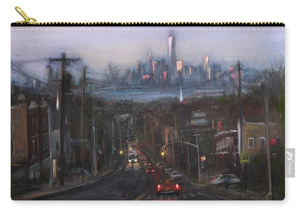 Victory Boulevard At Dusk Carry-all Pouch