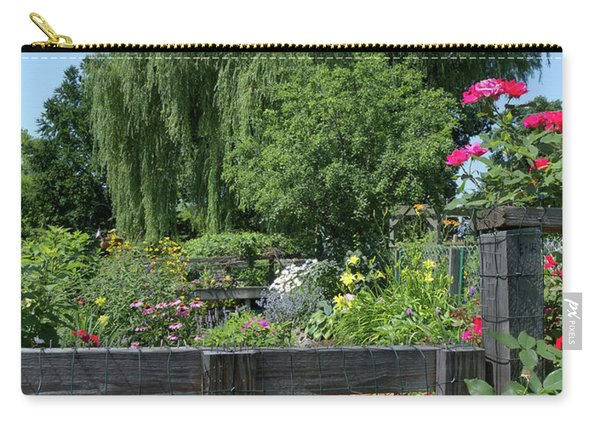 Victory Garden Lot And Willow Tree, Boston, Massachusetts  -30958 Carry-all Pouch