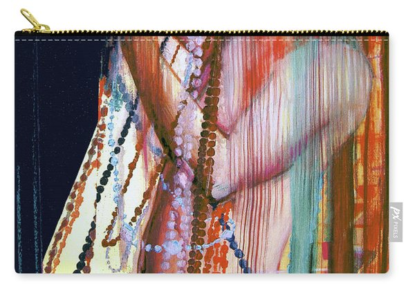 Viel Of Jewels  Carry-all Pouch
