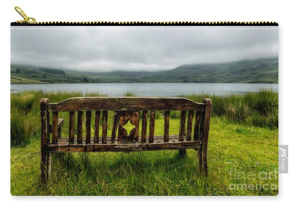 View Across The Lake Carry-all Pouch