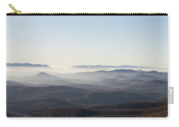 View From Blood Mountain Carry-all Pouch