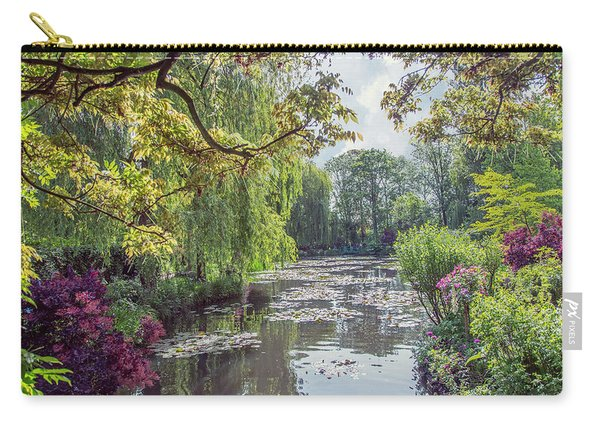 View From Monet's Bridge Carry-all Pouch
