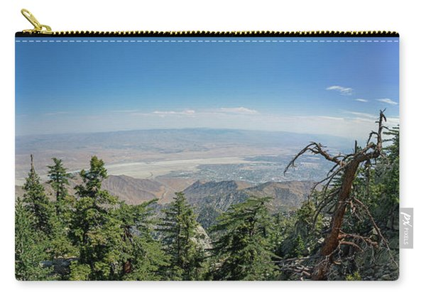 View From Mount San Jacinto Carry-all Pouch