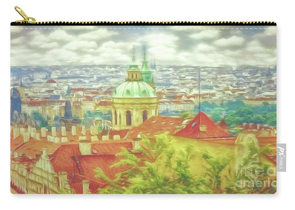 View From The High Ground - Prague  Carry-all Pouch