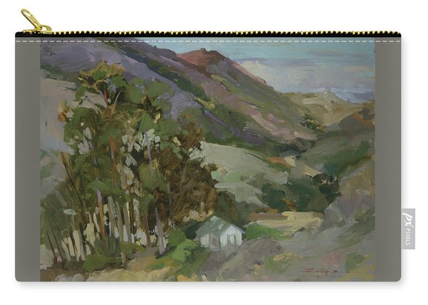 View From The Reservoir - Catalina Island Carry-all Pouch