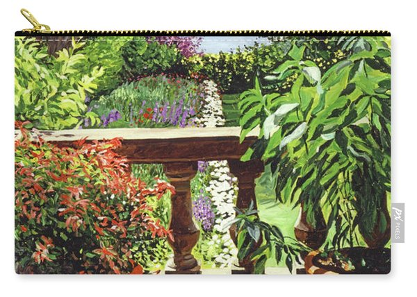 View From The Royal Garden Carry-all Pouch