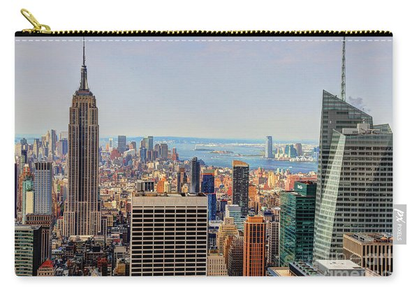View From The Top Of The Rock Rockefeller Center Nyc  Carry-all Pouch