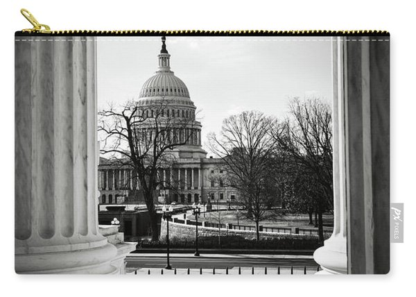 View Of Capitol Hill Through The Supreme Court Carry-all Pouch