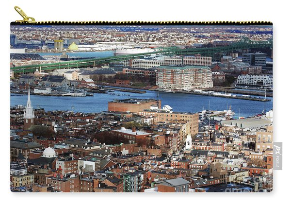 View Of Charlestown Navy Yard Carry-all Pouch