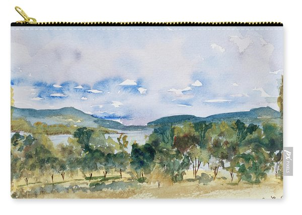 View Of D'entrecasteaux Channel From Birchs Bay, Tasmania Carry-all Pouch