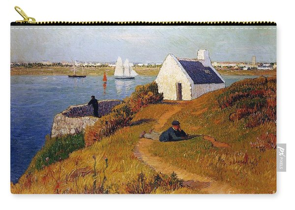 View Of Lorient In Brittany Carry-all Pouch