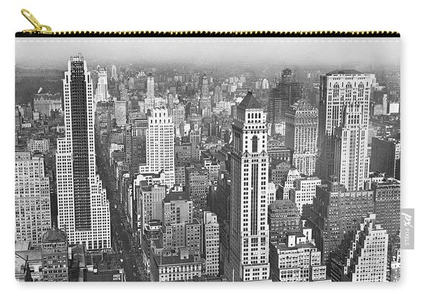View Of Midtown Manhattan Carry-all Pouch