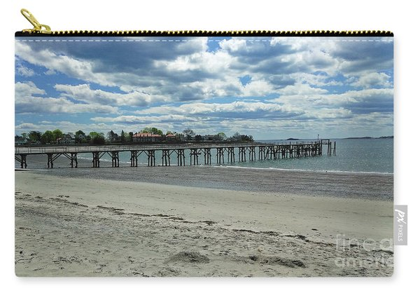 View Of Pier. Fisherman's Beach, Swampscott, Ma Carry-all Pouch