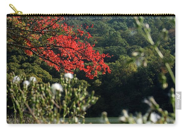 View Of Sharp Top In Autumn Carry-all Pouch