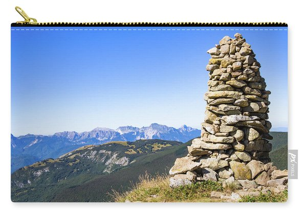 View Of The Apuan Alps Carry-all Pouch