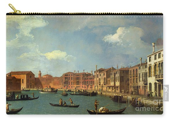 View Of The Canal Of Santa Chiara Carry-all Pouch