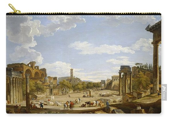 View Of The Roman Forum Carry-all Pouch
