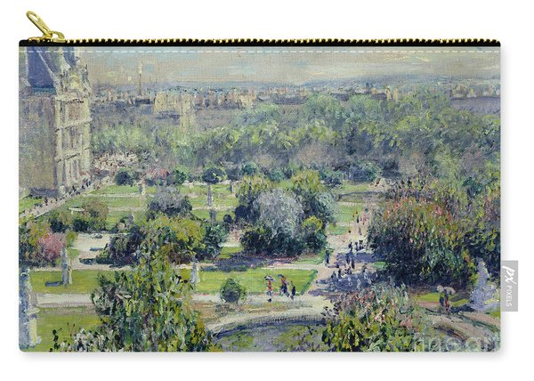 View Of The Tuileries Gardens Carry-all Pouch
