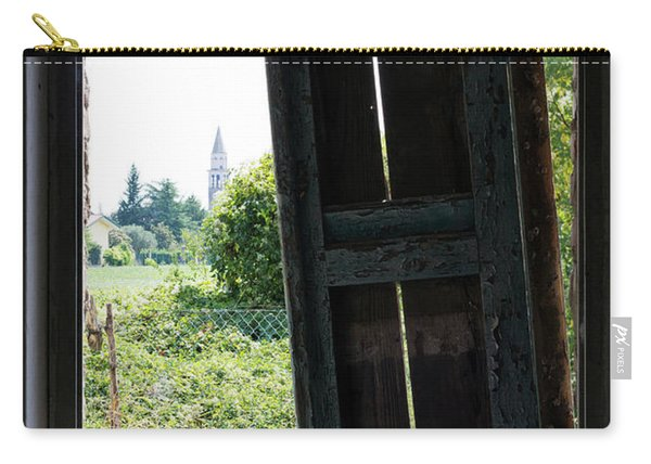 View On The Campanile Carry-all Pouch