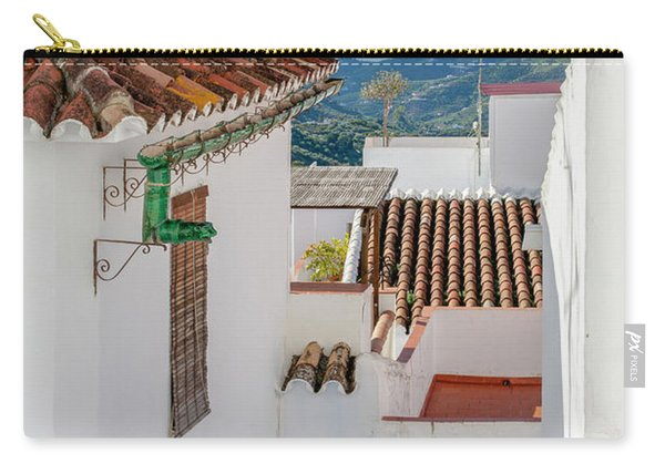 View Over The Roofs Carry-all Pouch