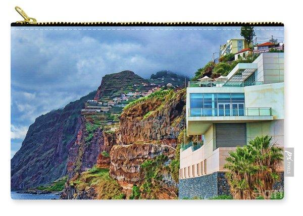 Viewpoint Over Camara De Lobos Madeira Portugal Carry-all Pouch