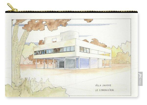 Villa Savoye Le Corbusier Carry-all Pouch