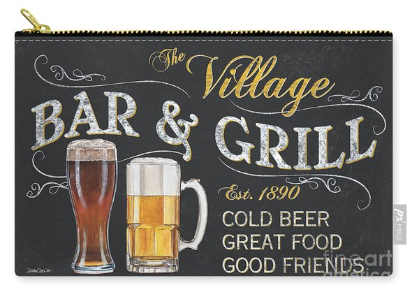 Village Bar And Grill Carry-all Pouch