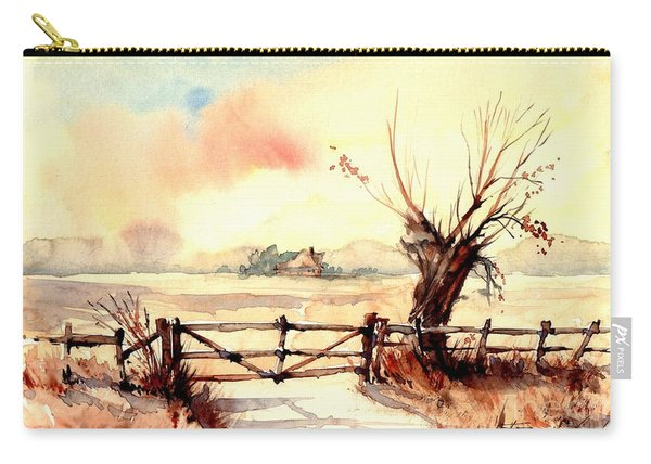 Village Scene IIi Carry-all Pouch