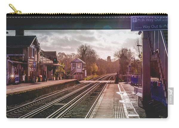 The Village Train Station Carry-all Pouch
