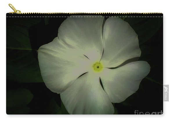 Vinca Bloom Night Glow Carry-all Pouch