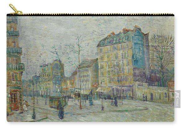 Vincent Van Gogh  The Boulevard De Clichy, Paris Carry-all Pouch