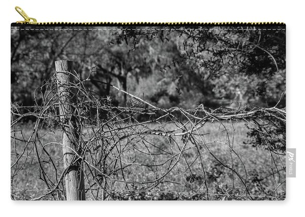 Vine On Barbwire Carry-all Pouch