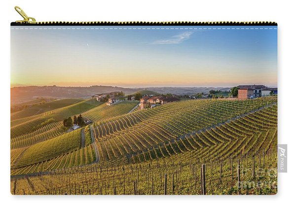 Vineyard At Barbaresco, Italy Carry-all Pouch