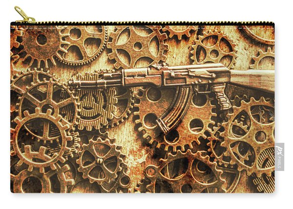 Vintage Ak-47 Artwork Carry-all Pouch