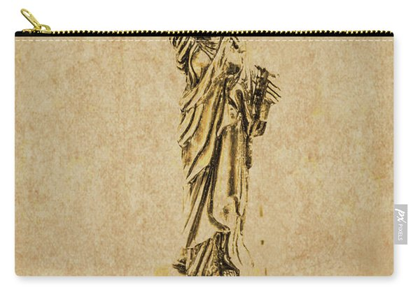 Vintage America Carry-all Pouch