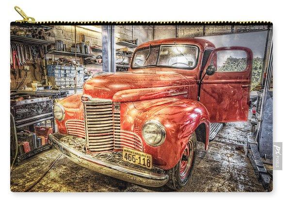 Vintage Auto Service Garage Carry-all Pouch