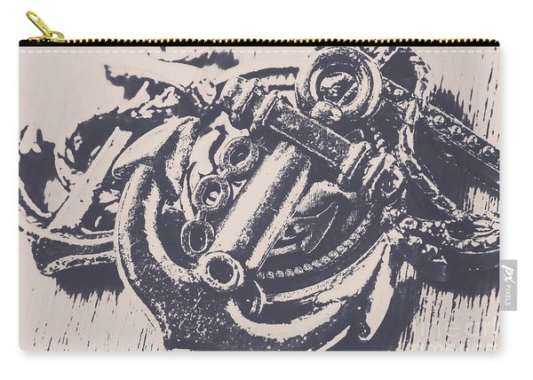 Vintage Boating Anchor Carry-all Pouch