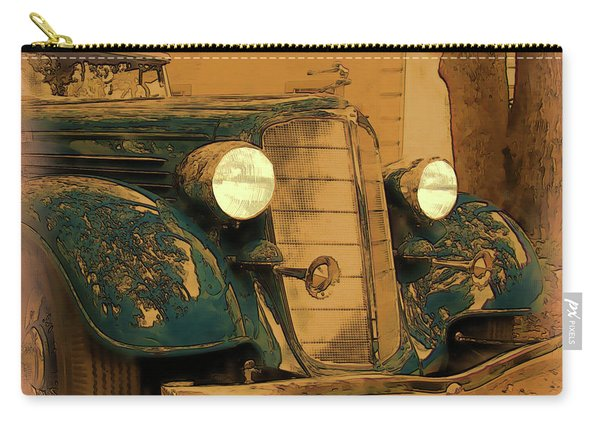 Vintage Buick Carry-all Pouch
