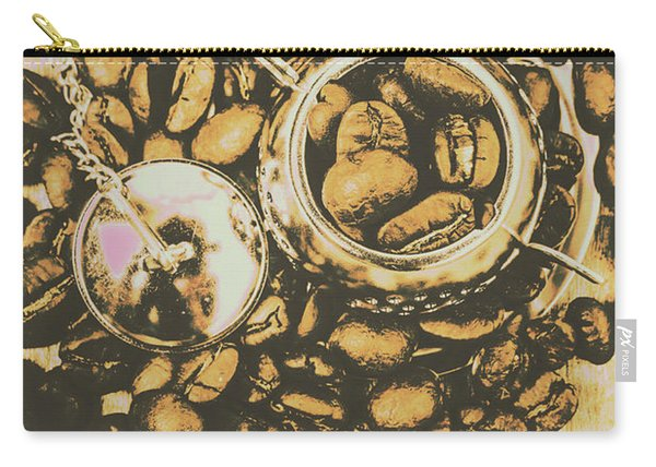 Vintage Cafe Artwork Carry-all Pouch