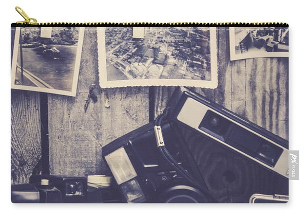 Vintage Camera Gallery Carry-all Pouch