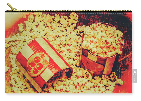 Vintage Carnival Snack Booth Carry-all Pouch