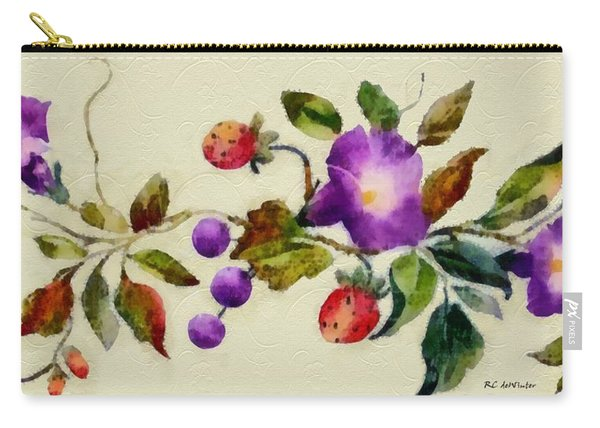 Vintage Charm Carry-all Pouch