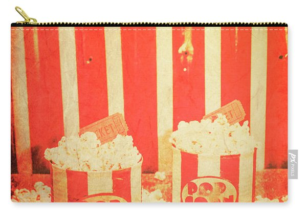 Vintage Classical Cinema Interval Concept Carry-all Pouch