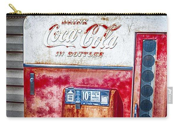 Vintage Coca-cola Machine 10 Cents Canvas Print,photographic Print,art Print,framed Print, Carry-all Pouch
