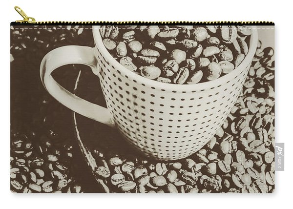 Vintage Coffee Art. Stimulant Carry-all Pouch