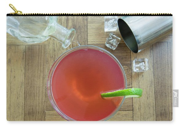 Vintage Cosmopolitan Cocktail Carry-all Pouch