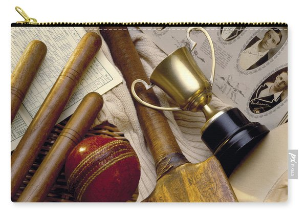 Vintage Cricket Carry-all Pouch