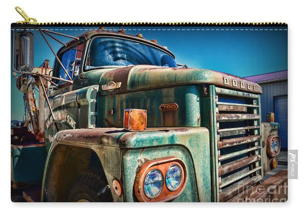 Vintage Dodge 700 Diesel Truck  Carry-all Pouch